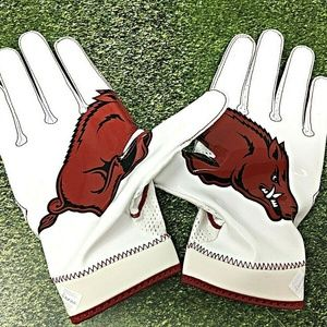 Nike Superbad 4 Arkansas Razorbacks Gloves NCAA